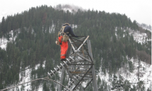 Winter Storm Tower Repairs