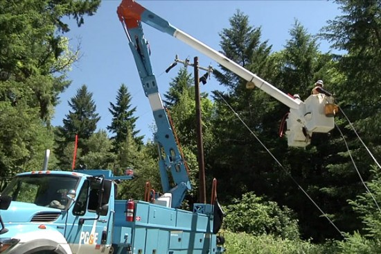 PG&E partner with the Yurok Tribe to bring electricity to remote Northern California.