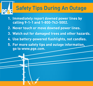 Infographic: Outage Safety Tips