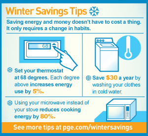 infographic: Winter Savings Tips 2016