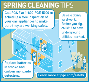 infographic: Spring Cleaning Tips