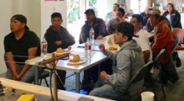 Day laborers and farmworkers learned about the importance of calling 811 before beginning any digging project during a workshop in Berkeley.